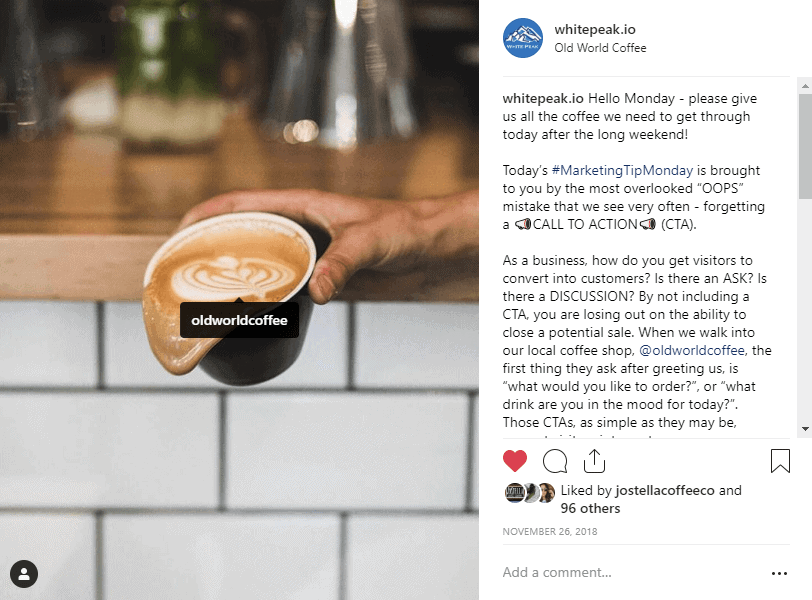 Instagram Mentions And Tags